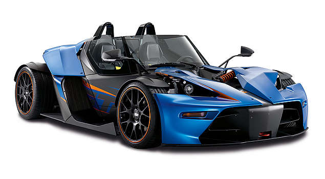 "KTM X-Bow GT: Experience the meaning of ""super sports car"" completely afresh"